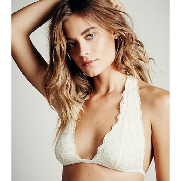 677bfc6934 NWT Free People Truly Madly Deeply T Back Bralette